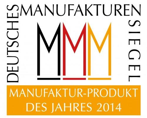 Manufaktur-Produkt des Jahres 2014